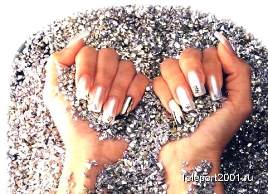 правильная форма нарощенных ногтей фото