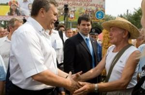 Янукович на Сорочинской ярмарке