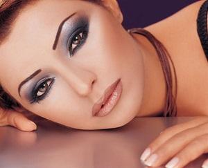 новогодний макияж для глаз