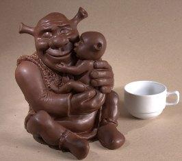 шоколадная скульптура