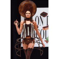 шоколадная одежда
