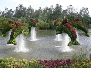 необычные сады