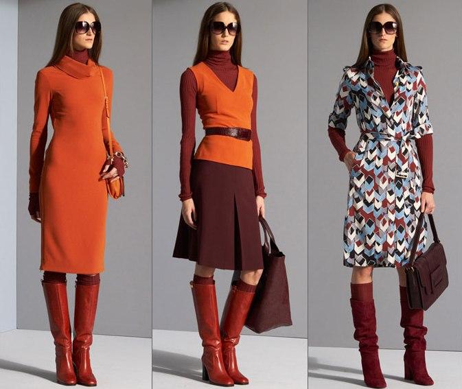 Мода осень — 2012 женский журнал qli