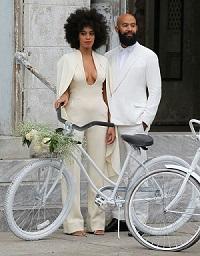 свадебное платье Соланж Ноулз