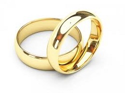 классические обручальные кольца