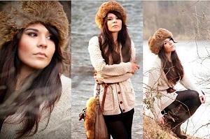 красивые шапки для женщин