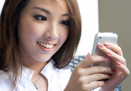 Стильный телефон для девушки