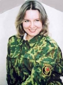 Белорусская девушка в армии